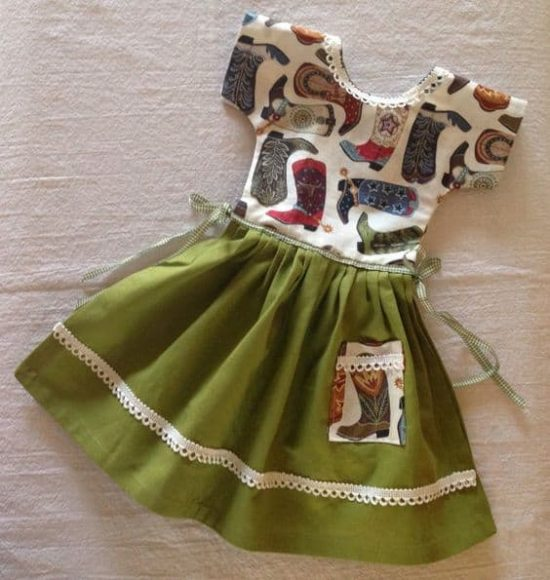 Cute Hanging Dish Towel Dress Pattern The Whoot