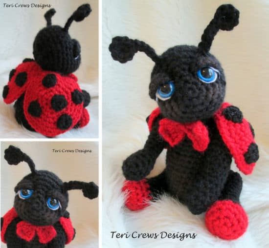 Ladybug Crochet Pattern Cute Ideas Easy Video Tutorial