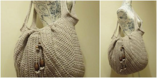 Market Beach Boho Bag Free Crochet Pattern