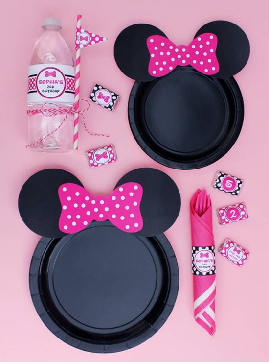 Minnie Mouse Party Free Printables
