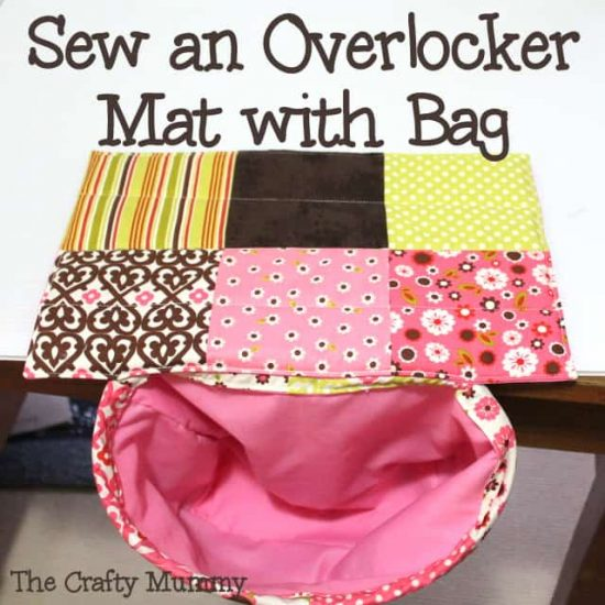 Sew An Overlocker Mat Bag Tutorial