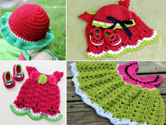 Watermelon Crochet Free Patterns