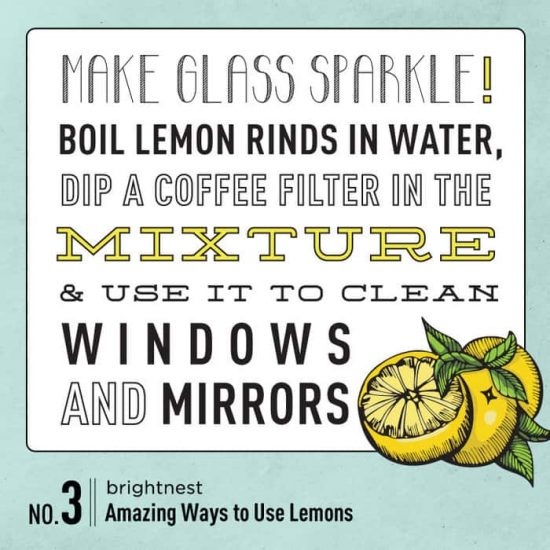 cleaning using lemons recipes 4