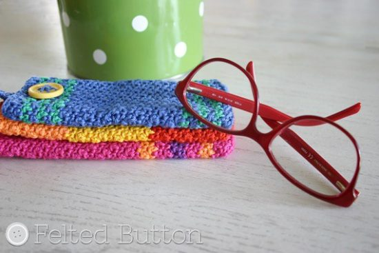 Eyewear Case FREE Crochet Pattern