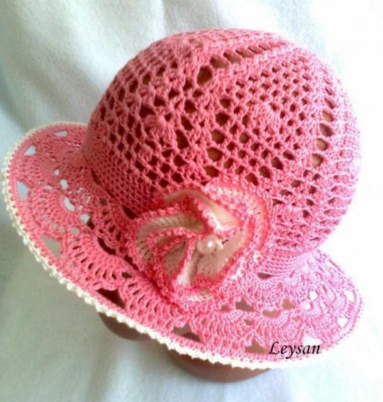 Crochet Cloche Hat - Crochet Panama Hat Free Pattern