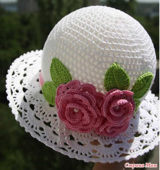 Free Crochet Patterns Hats With Brim Labzada Blouse