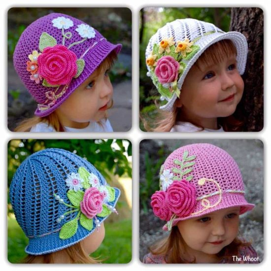 Crochet Cloche Hats Free Pattern