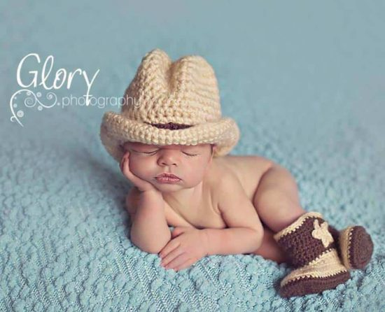 570b70107fa Crochet Cowboy Outfit Pattern Free Video Tutorial