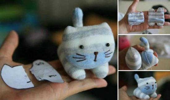 DIY Sock Kitten Free Pattern and Tutorial