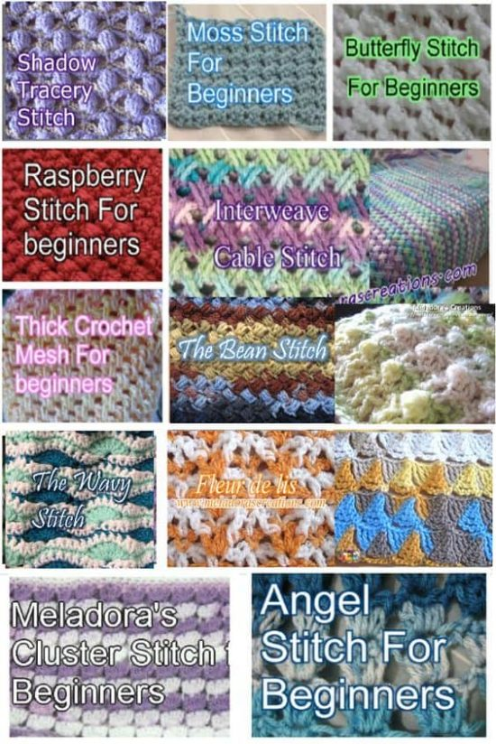 How to Crochet Easy Patterns for Beginners FREE Patterns