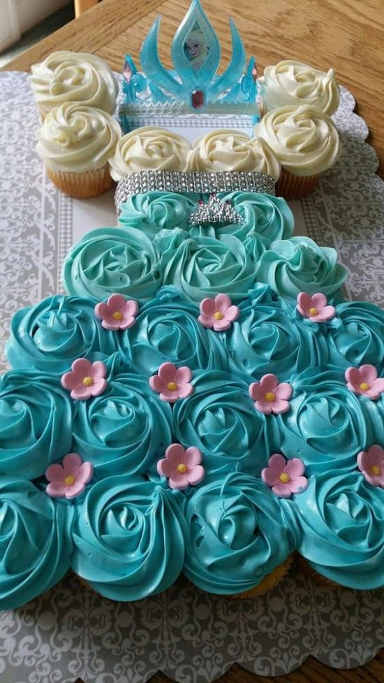 Amazing Pull Apart Cupcake Cakes Best Ideas The Whoot Birthday Cards Printable Trancafe Filternl
