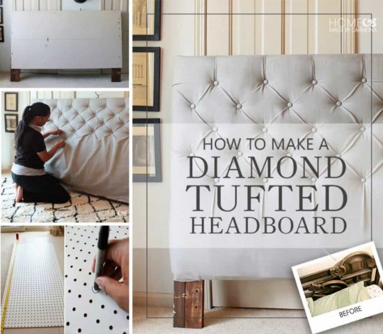 Excellent Learn The Art Of Diamond Tufting The Super Easy Way The Whoot Machost Co Dining Chair Design Ideas Machostcouk