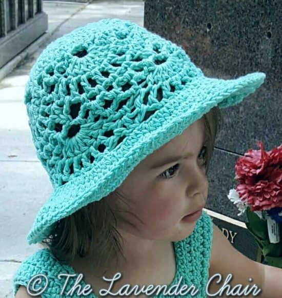 Lacy-Shells-Sun-Hat-Free-Crochet-Pattern