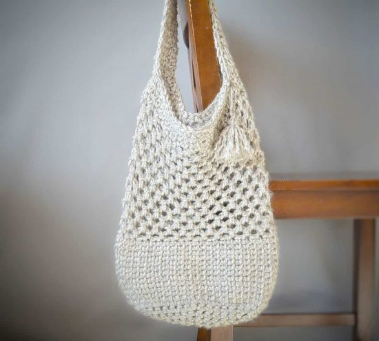 You Will Adore These Crochet Tote Bag Best Free Patterns The WHOot Inspiration Crochet Hobo Bag Pattern