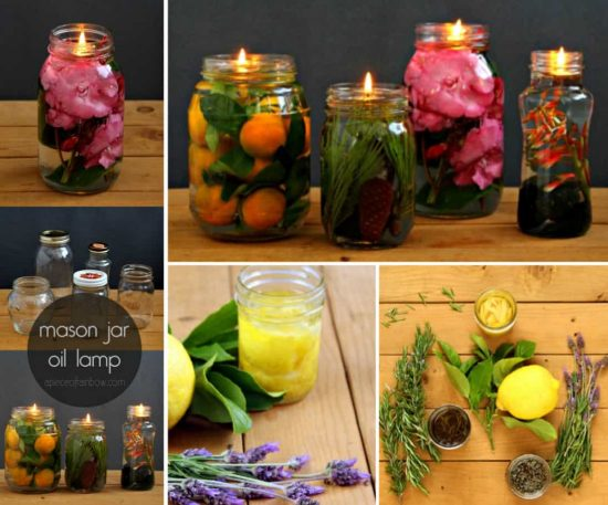 Mason Jar Oil Lamp Tutorial