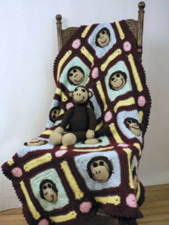 Monkey Face Crochet Pattern Is Super Cute To Boot The Whoot