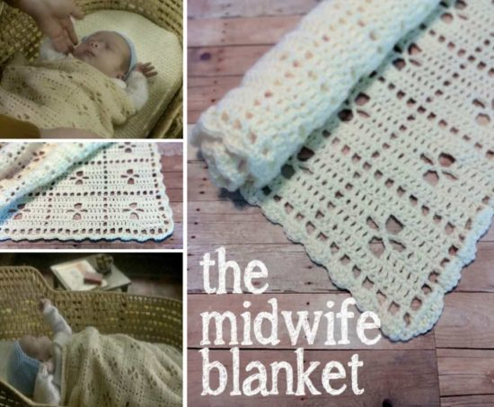 The Midwife Blanket Free Crochet Pattern