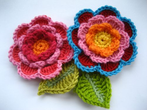 Triple Layer Flower Crochet Tutorial