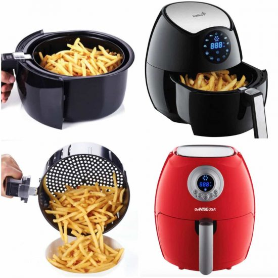 Air Fryer make all your favourite foods without the fat - use less than a tablespoon of oil or cook oil-less!