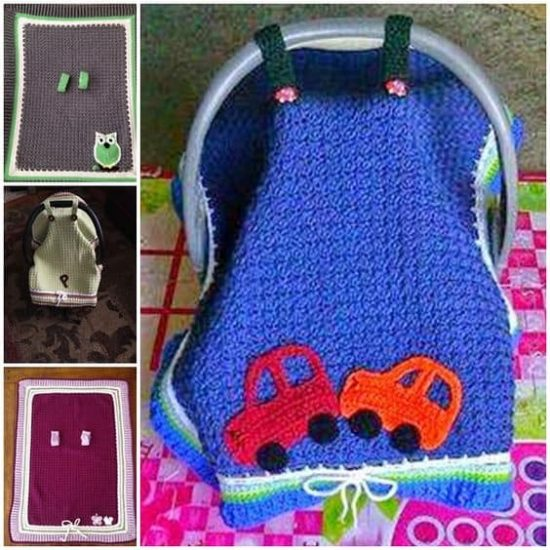 Crochet Baby Car Seat Free Pattern