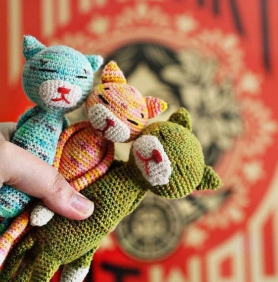 Cat Amigurumi Tutorial | Beginner Crochet | Kitty Mod Free Pattern ... | 559x550