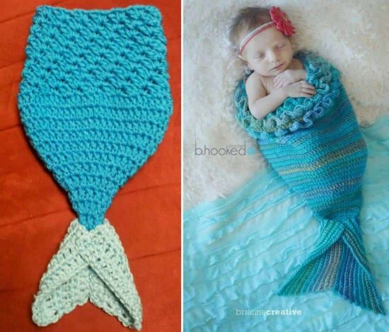 Crochet Mermaid Cocoon Free Pattern