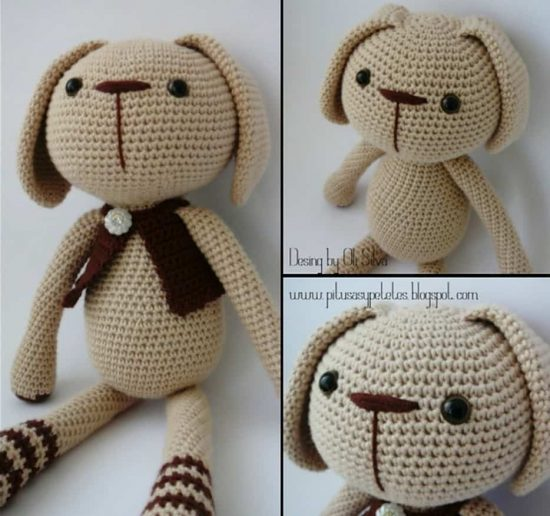 Crochet Puppy Free Pattern