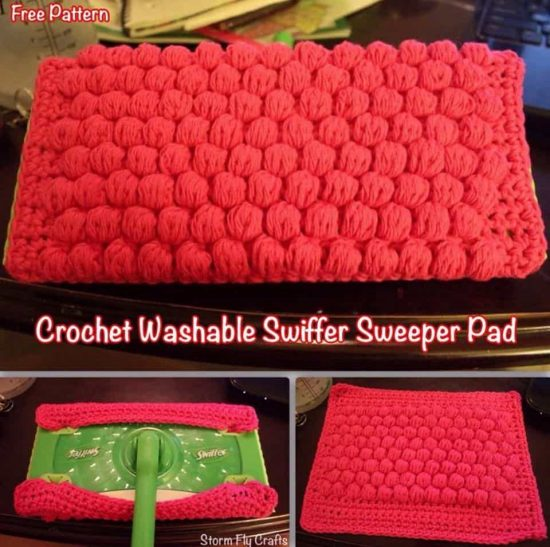 Crochet Swiffer Pads Free Pattern