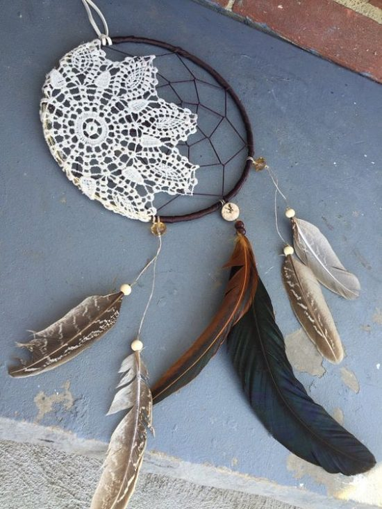 Doily Dream Catchers The Best Ideas The WHOot Interesting How To Make Doily Dream Catchers