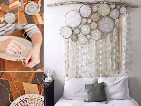 Doily Dream Catchers The Best Ideas The WHOot Magnificent How To Make Doily Dream Catchers