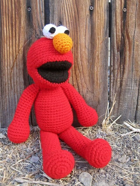 Elmo Crochet Free Pattern