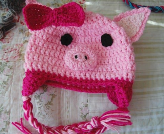 Free Crochet Baby Animal Hats