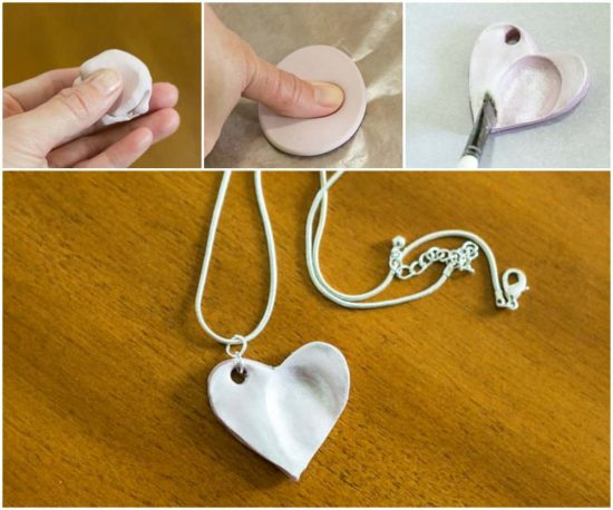 Heart fingerprint necklace diy is perfect gift idea the whoot this solutioingenieria Choice Image
