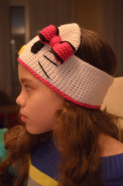 Hello Kitty Crochet Hat Pattern Free Video Tutorial