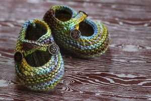 Knitted Baby Booties Free Pattern