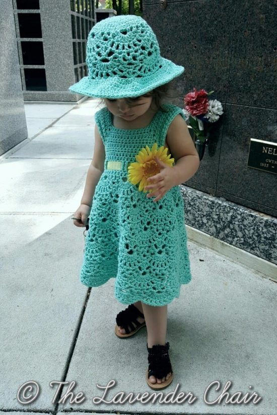 Crochet Vintage Dress Pattern Is Just Adorable | The WHOot