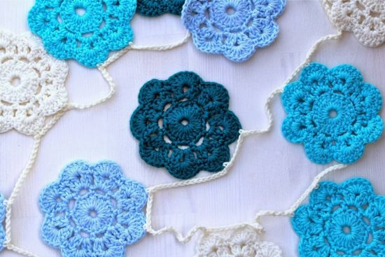Maybelle Crochet Flower Free Pattern