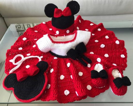 6678fb2fbc1 Mickey And Minnie Mouse Crochet Patterns The Best Ideas
