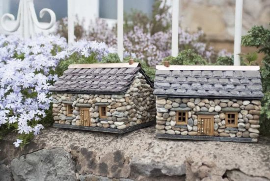 Miniature Stone Cottages