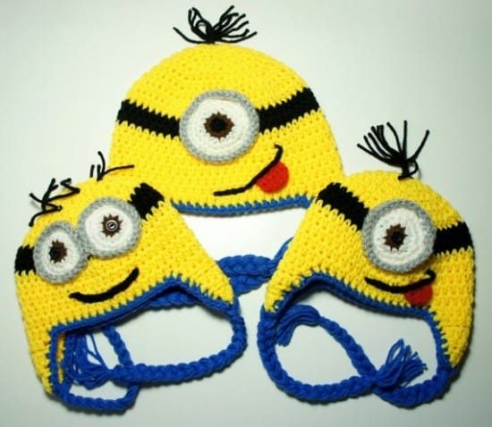 Minion Crochet Pattern Pinterest Top Pins Cutest Ideas f089e22685c