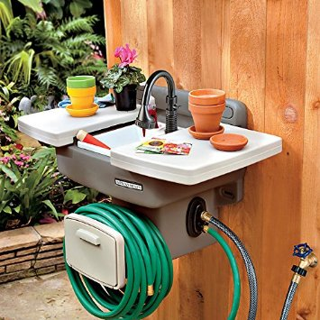Outdoor sink hook up
