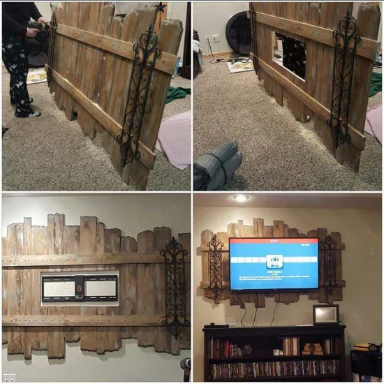 Pallet TV Wall Mount