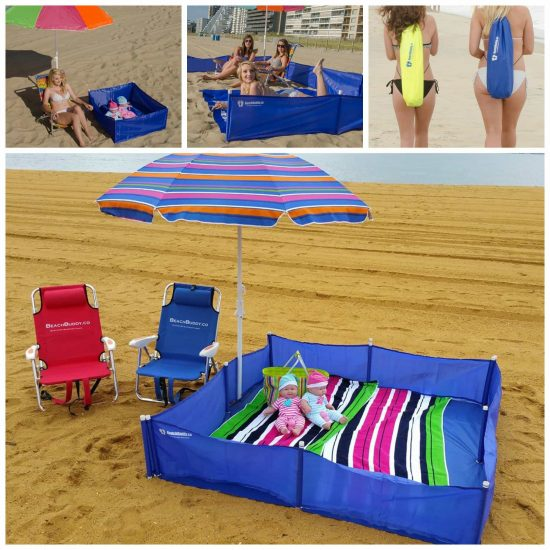 Portable Baby Beach Playpen
