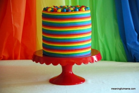 Rainbow Cake Ideas For Birthdays Pinterest Best Video Tutorial