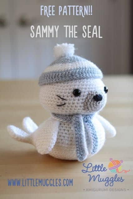 Sammy The Seal Free Crochet Pattern