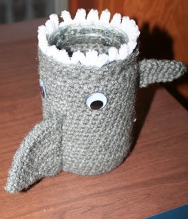 Shark Crochet Pencil Case Free Pattern