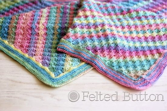 Spring Into Summer Blanket Free Pattern