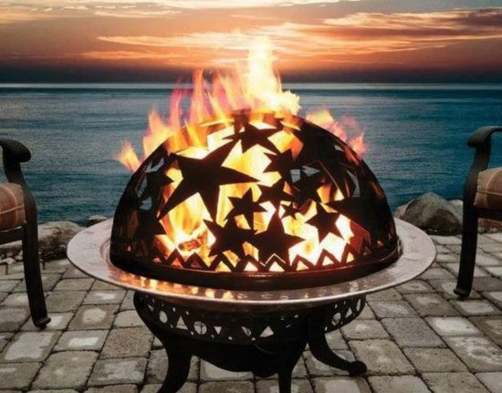 Starry Night Fire Dome - affiliate link