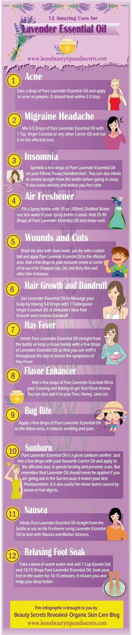 12 Amazing Uses for Lavender