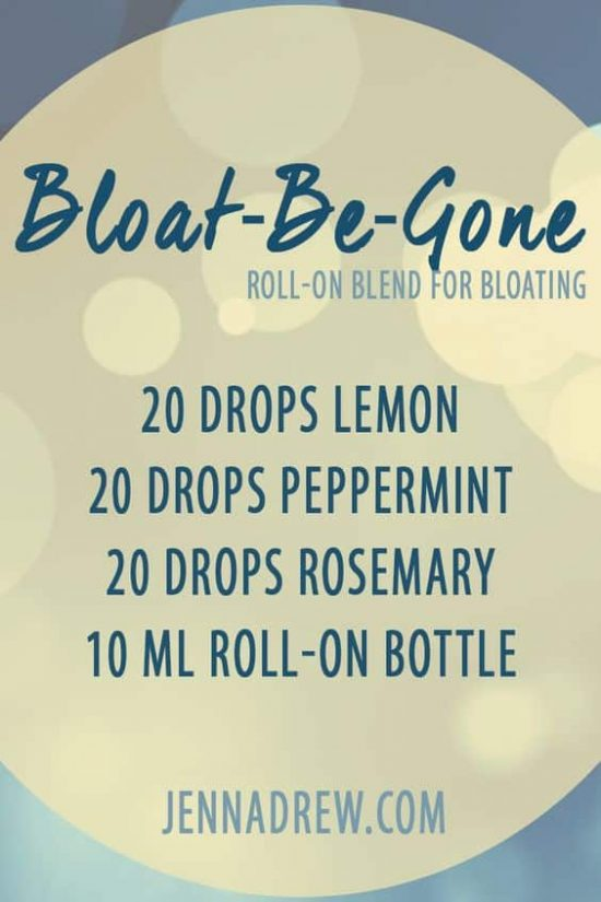 Bloat Be Gone Essential Oil Bland